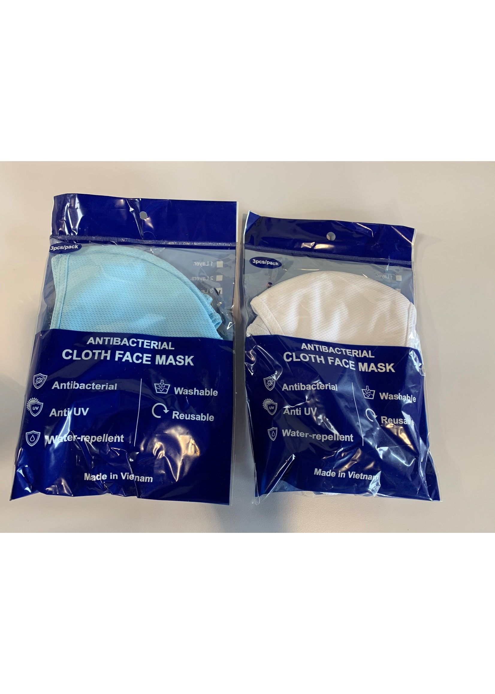 Cloth Face Mask Package (3 pcs)