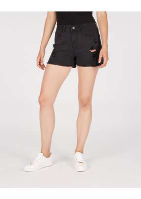 Numero Brands Layla Short - High Rise - Fray Hem