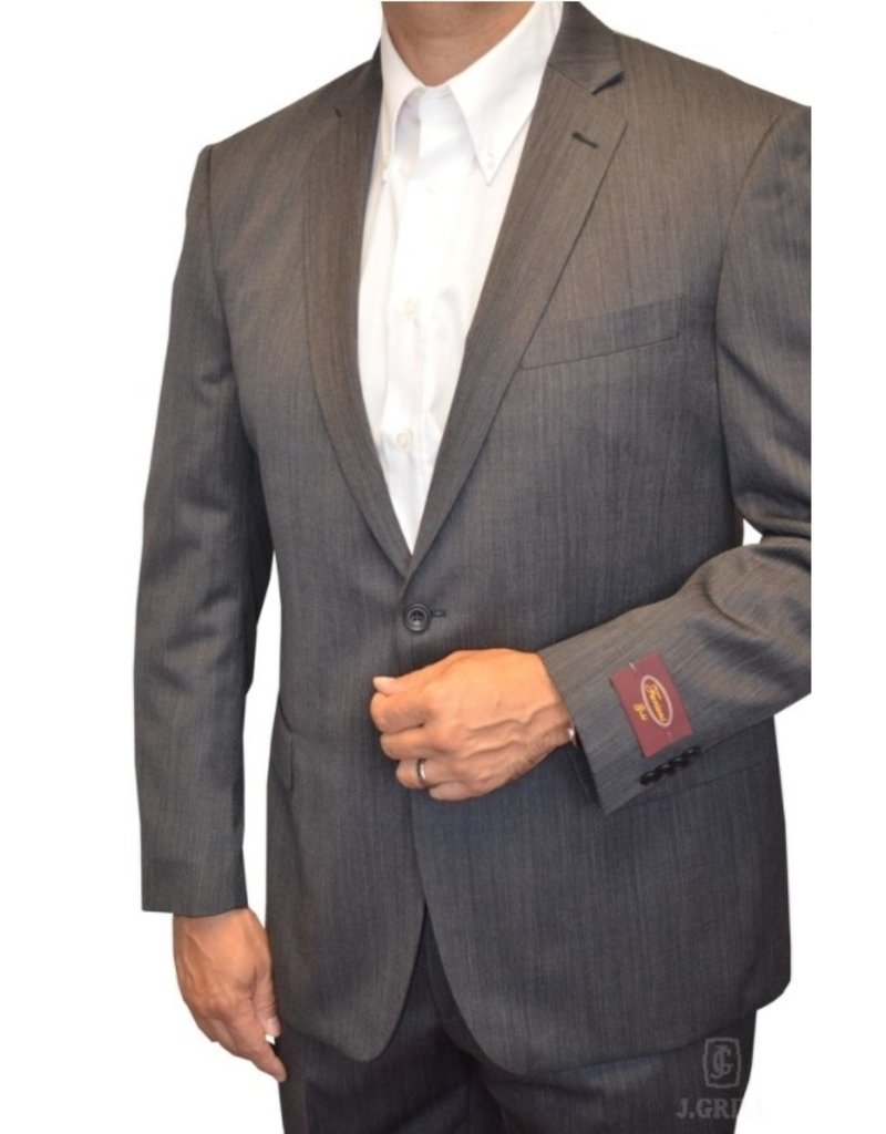 J.Grill Shark Skin Wool 2-Piece Suit