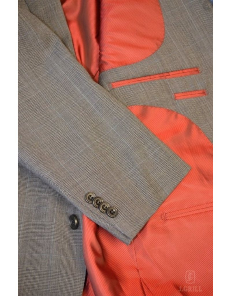 J.Grill Glencheck Wool 2-Piece Suit
