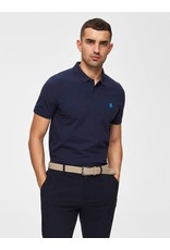 Selected Homme Embroidery Polo