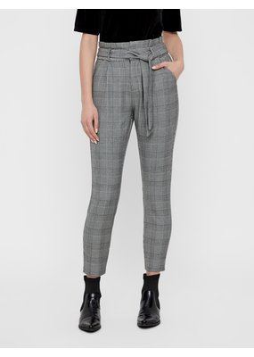 Vero Moda Eva Loose Paperbag Plaid Pants