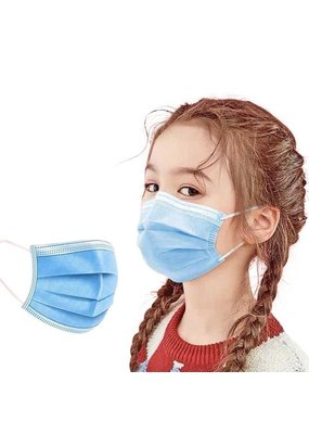 50PCS Kids Disposable Face Mask 4 Layers