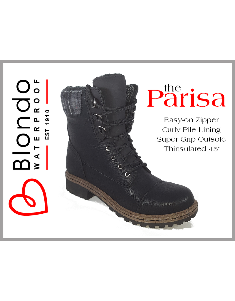 Blondo Parisa Black Leather