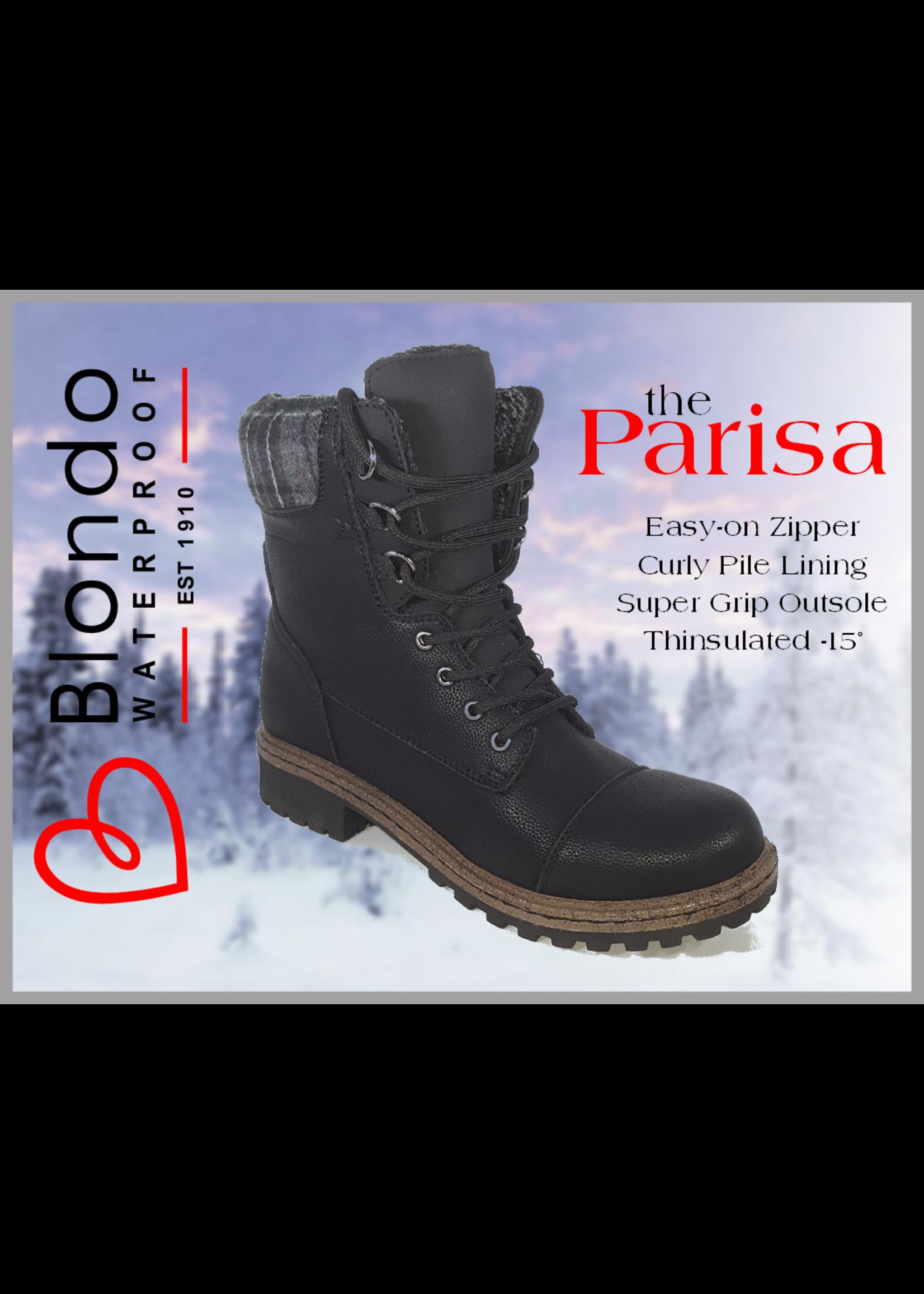 Blondo Parisa Black Leather