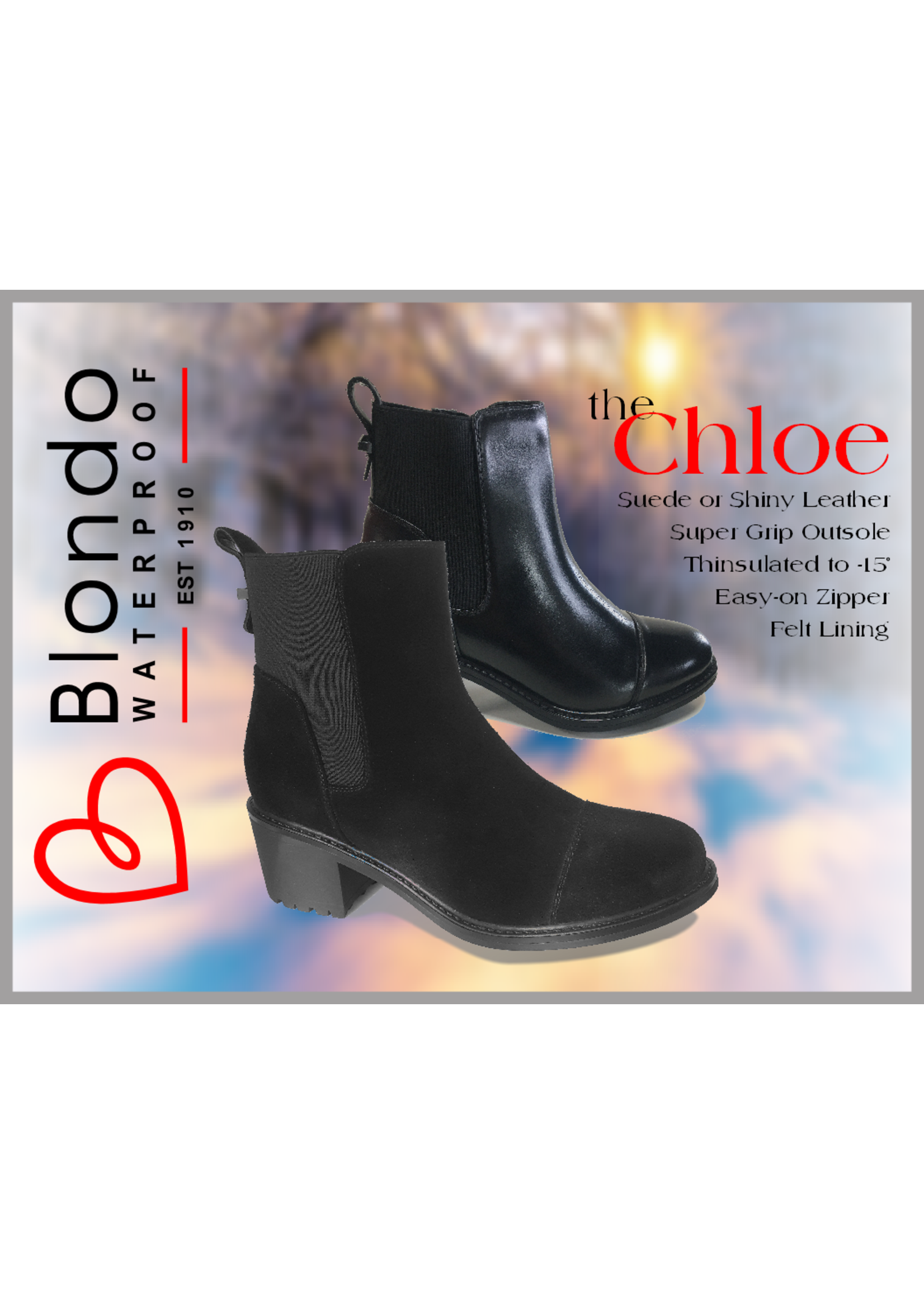 Blondo Chloe Black Leather