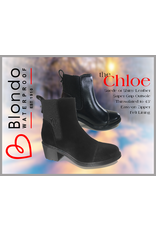 Blondo Chloe Black Suede