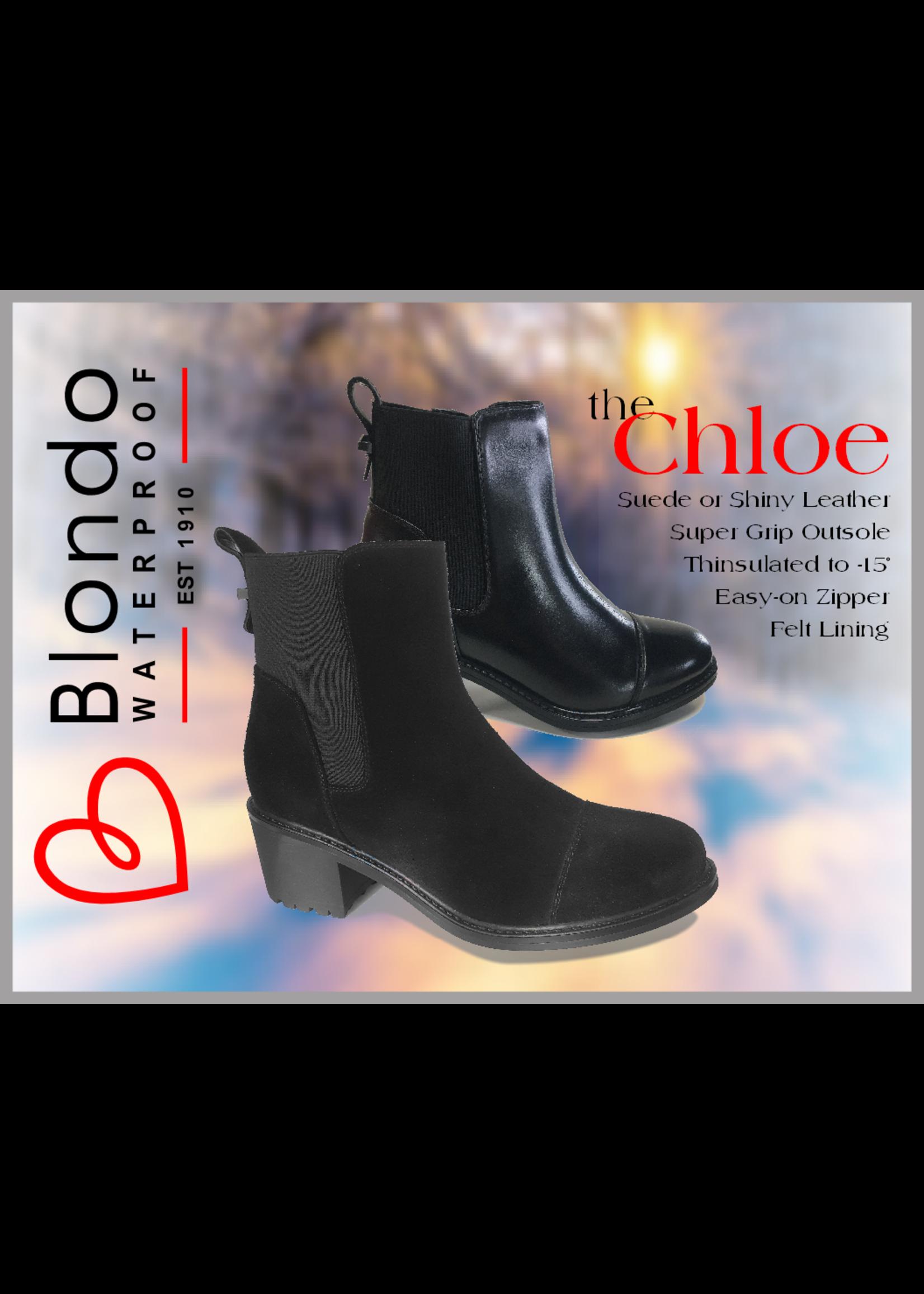 Blondo Chloe Black Suede