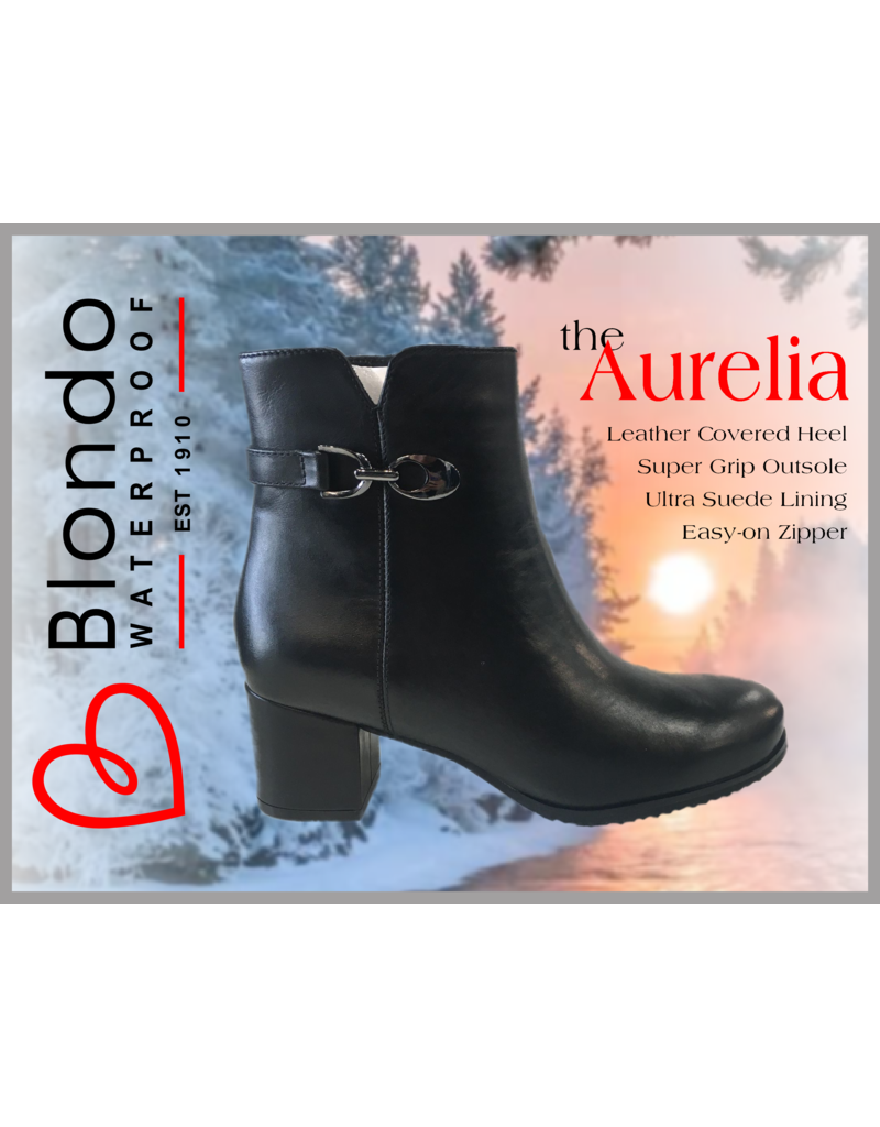 Blondo Aurelia Black Leather