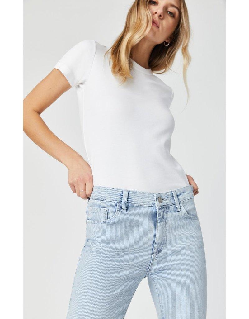 Mavi Jeans Tess Bleached Stripe Stretch