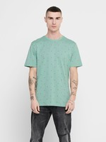 ONLY & SONS ONSKALM REG SS DITSY AOP TEE