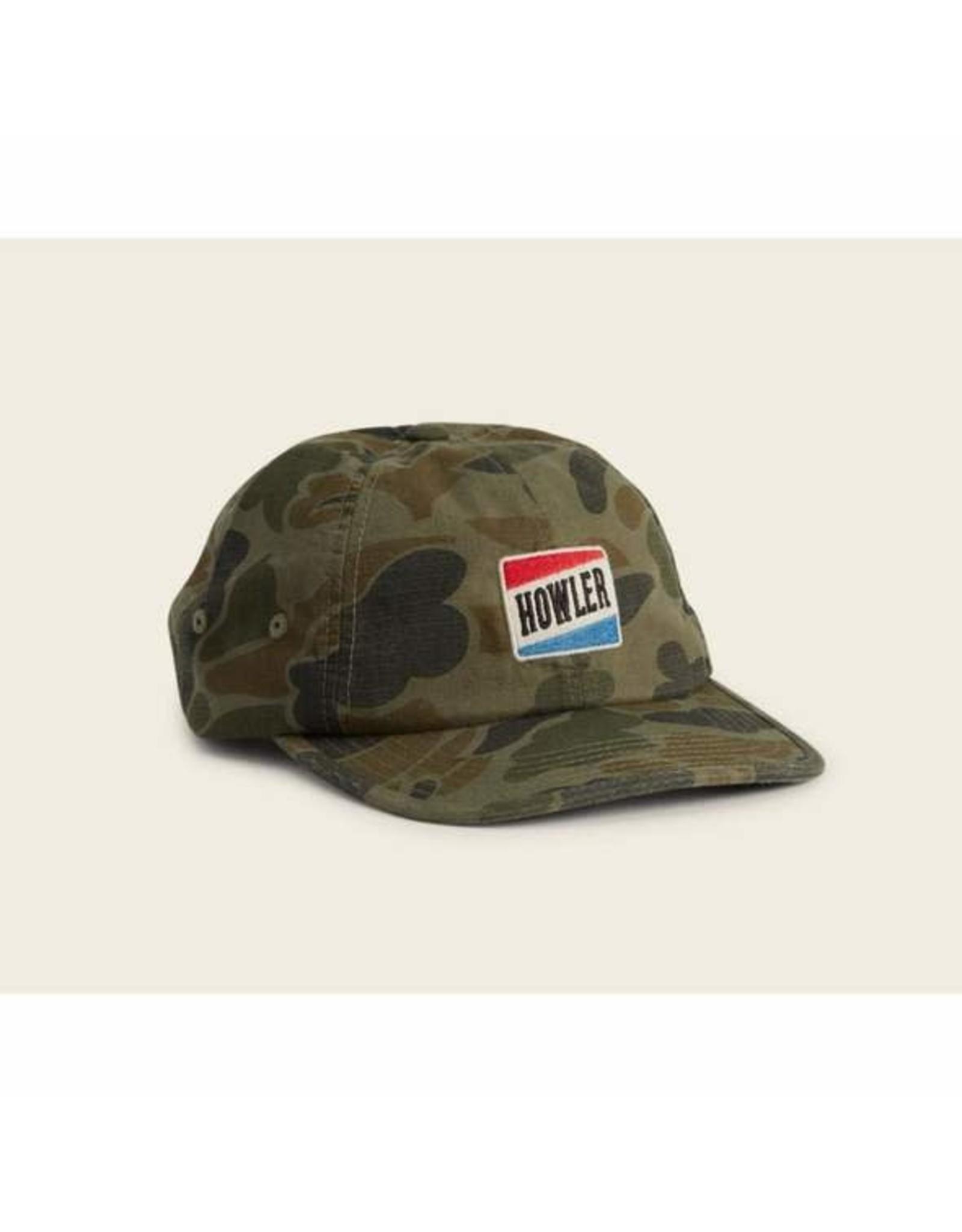 Howler Bros HB Howler Bubble Strapback Hat- Camo