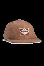 Howler Bros HB Posse Badge Strapback Hat- Tan Flannel