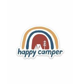 Keep Nature Wild KNW Happy Camper Sticker