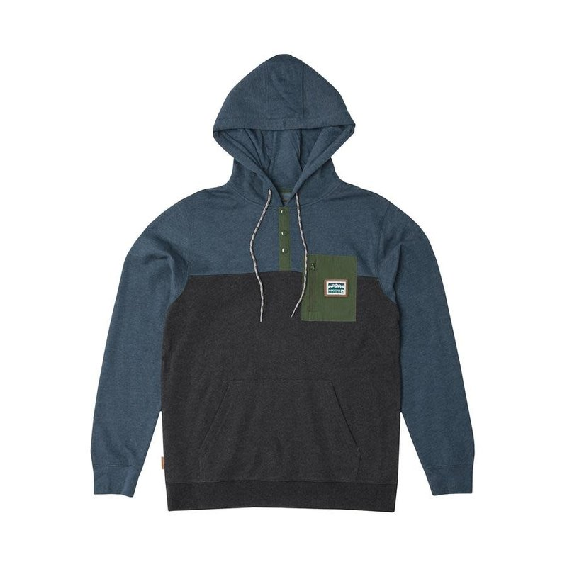 Hippy Tree HT Chattanooga Hoody: Heather Blue- L