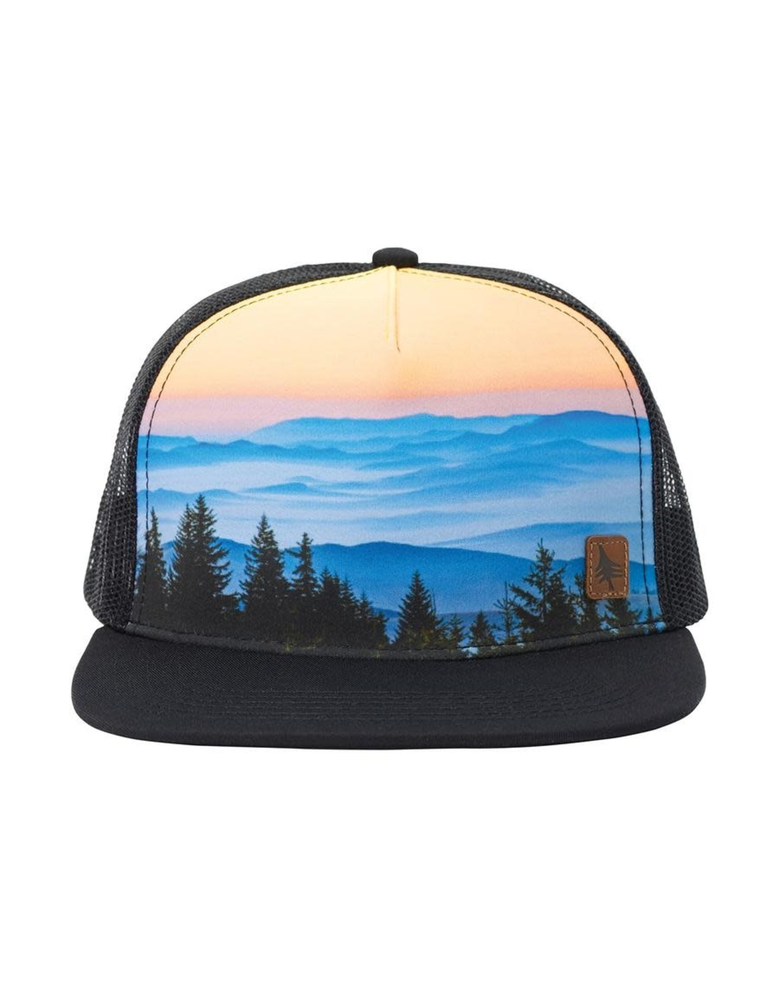 Hippy Tree HT Crestline Cap: Black- O/S
