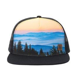 Hippy Tree HT Crestline Cap: Black- O/S