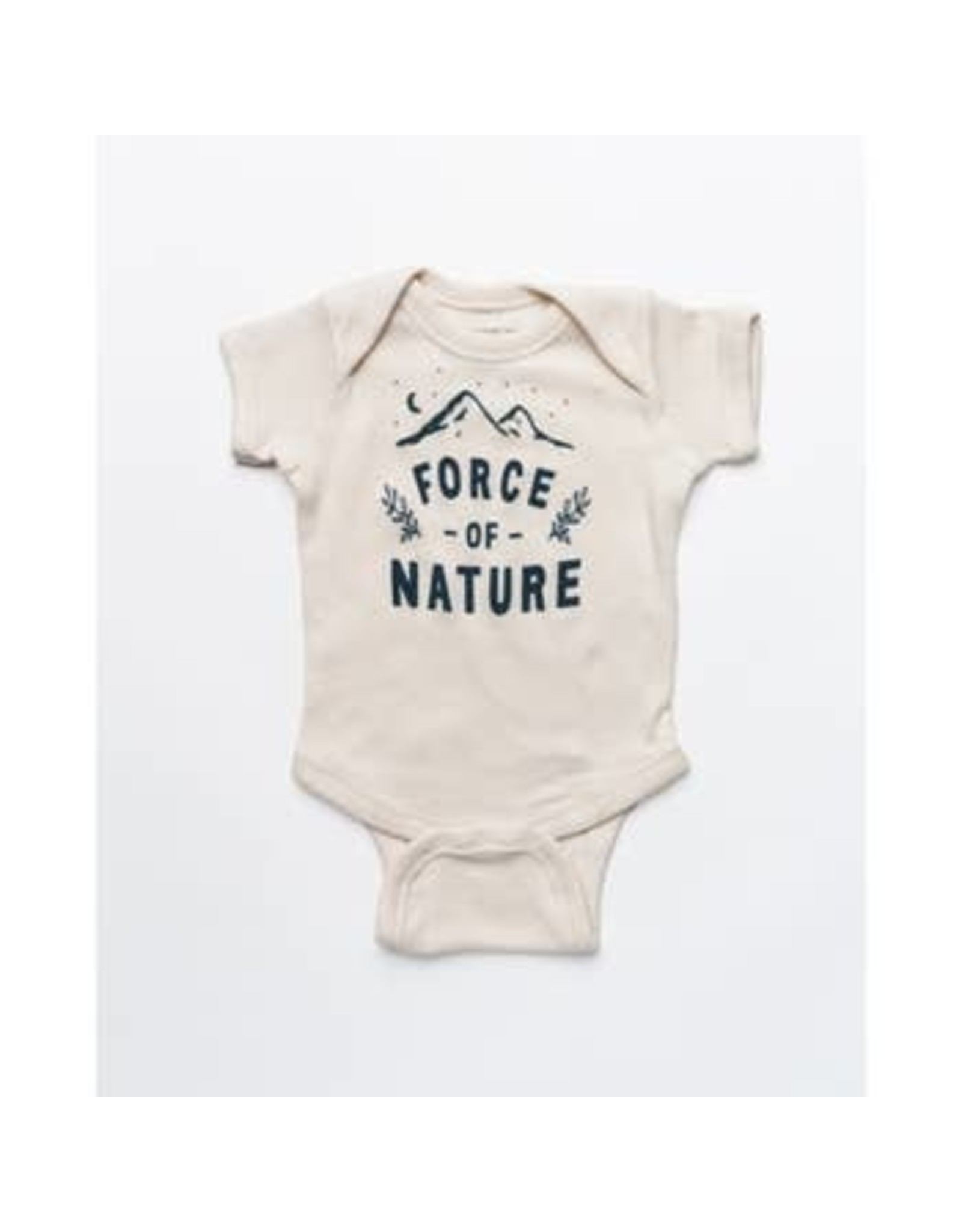 Keep Nature Wild KNW Force Of Nature Onesie: Natural - 6mo