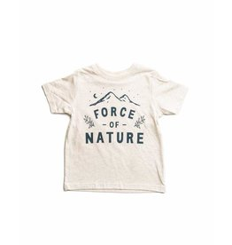 Keep Nature Wild KNW Force Of Nature Toddler T: Natural - 4T