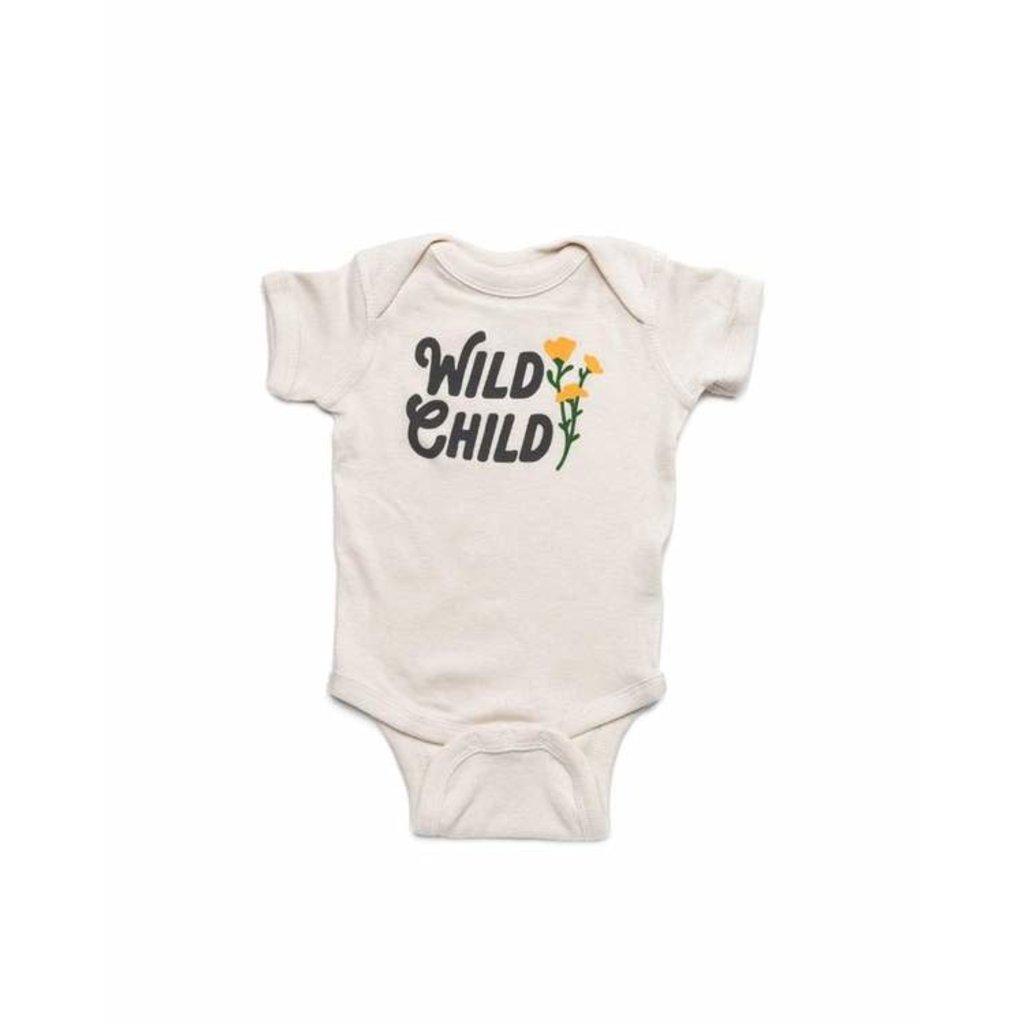 Keep Nature Wild KNW Wild Child Onesie: Natural - 6mo
