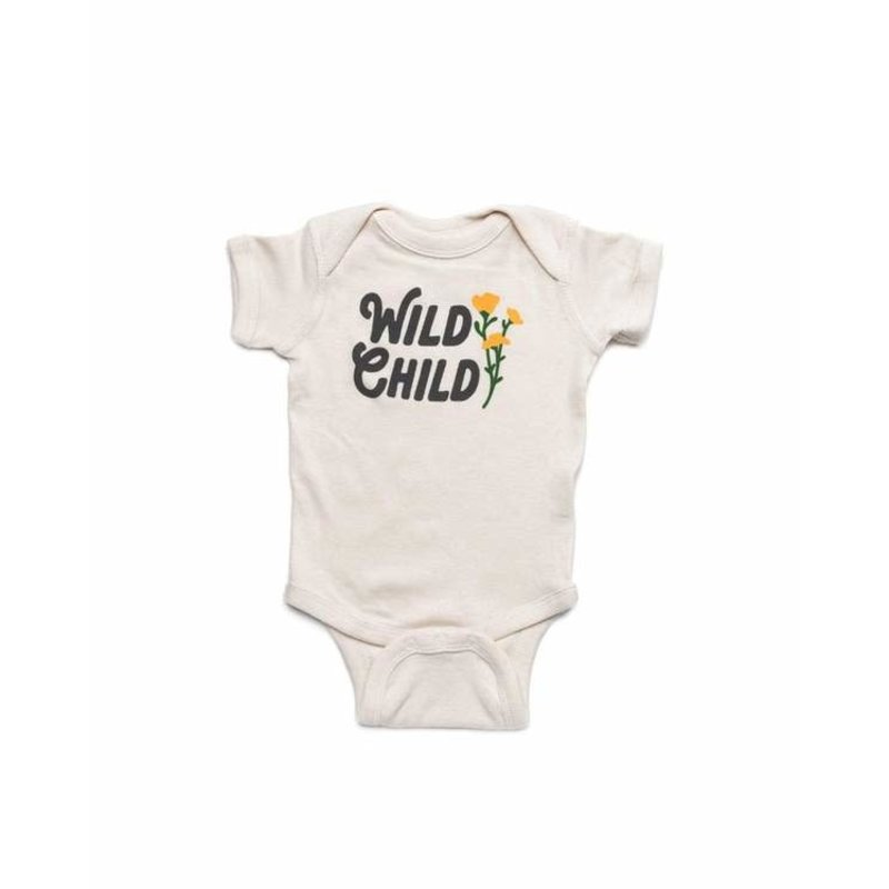 Keep Nature Wild KNW Wild Child Onesie: Natural - 18mo
