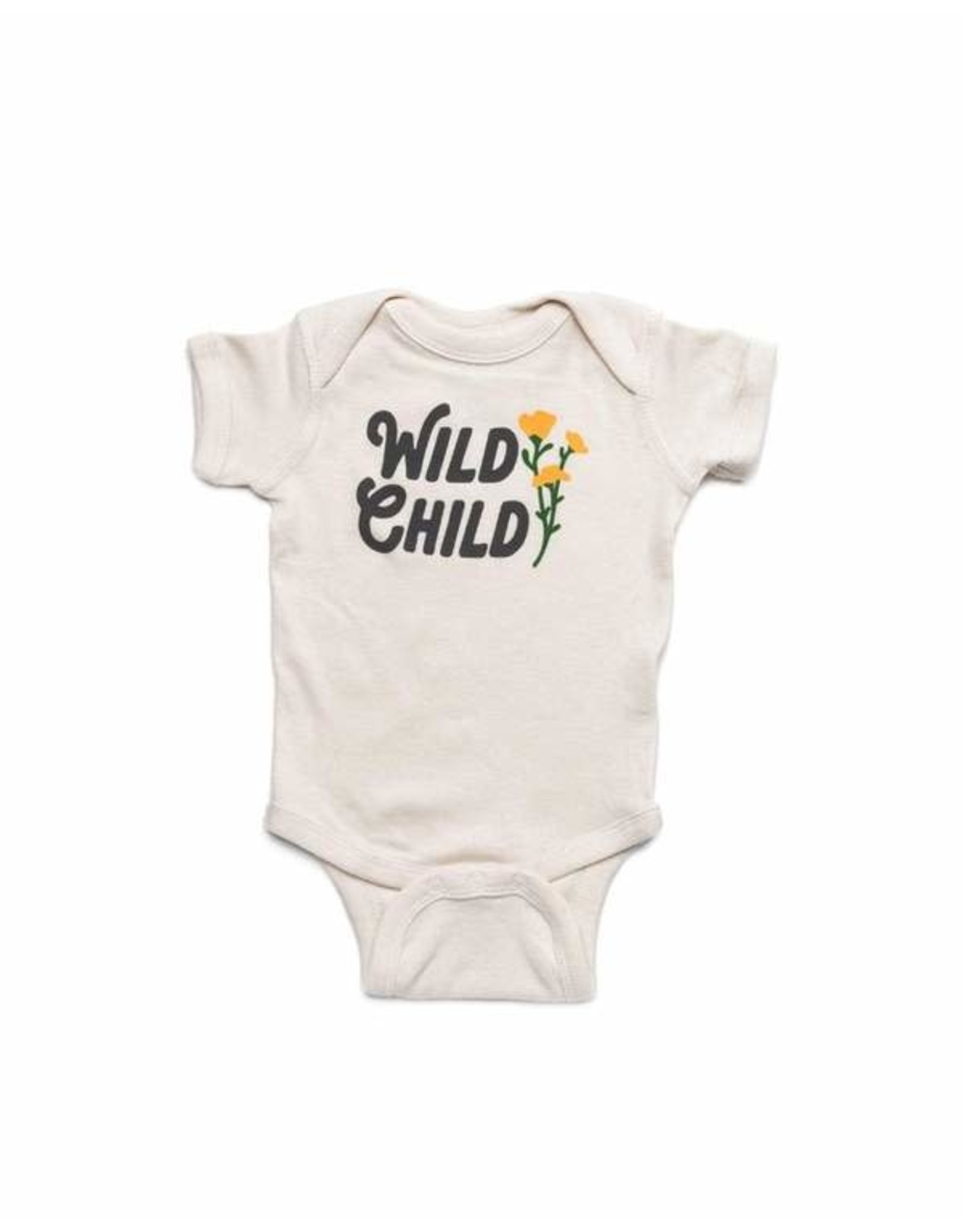 Keep Nature Wild KNW Wild Child Onesie: Natural - 24mo