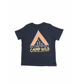 Keep Nature Wild KNW Camp Wild Toddler T: Navy - 2T