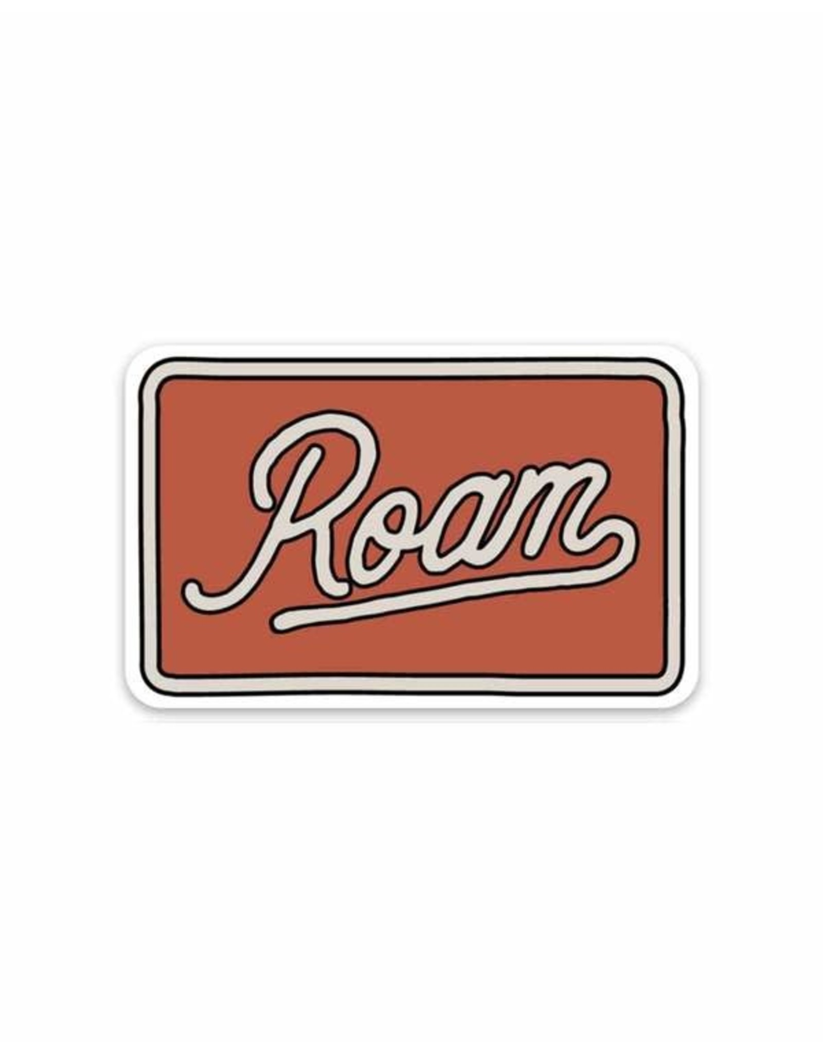 Keep Nature Wild KNW Roam Sticker