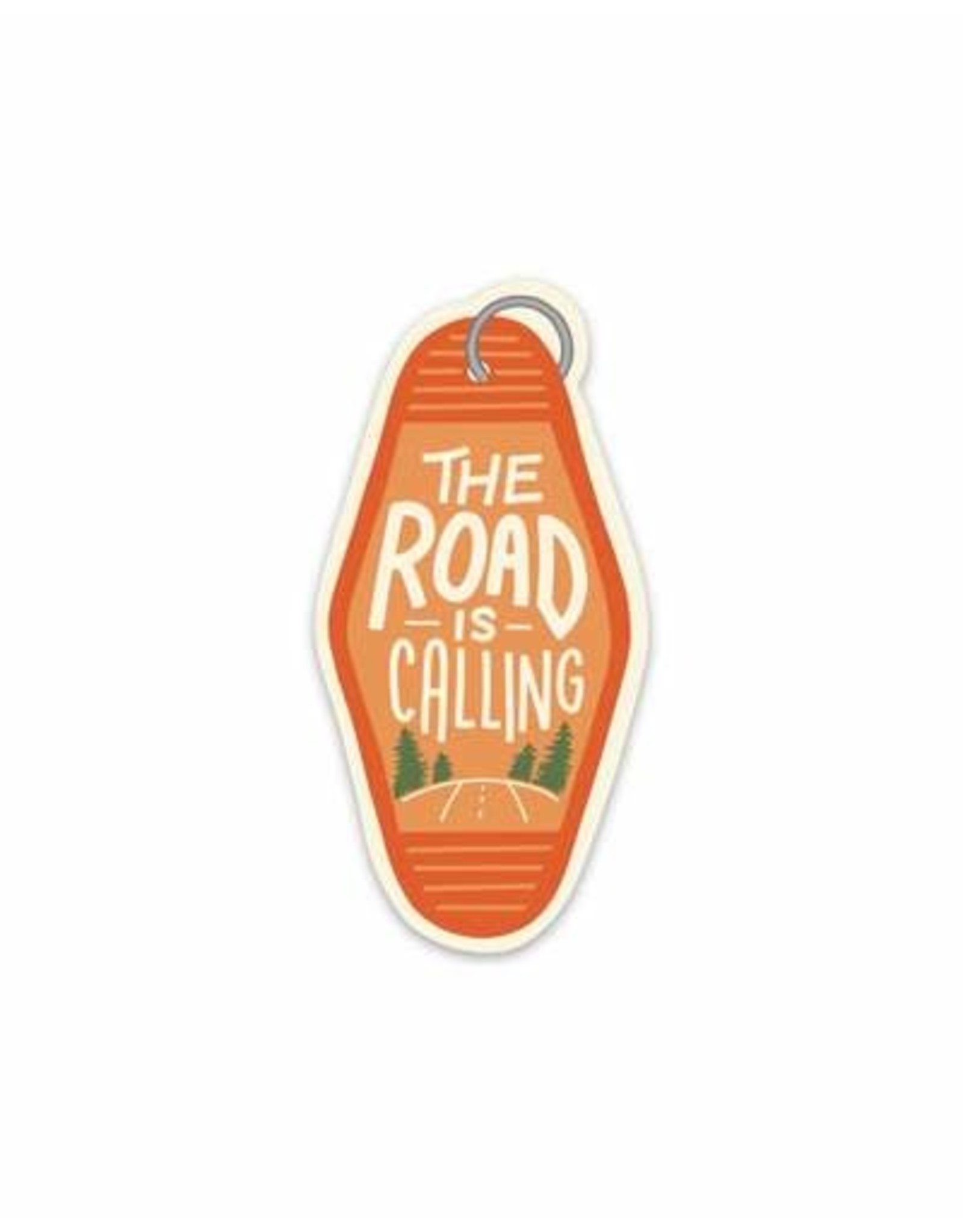 Keep Nature Wild KNW Road Is Calling Sticker