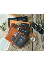 Lifetime Leather Co Lifetime Leather Passport Wallet- Black