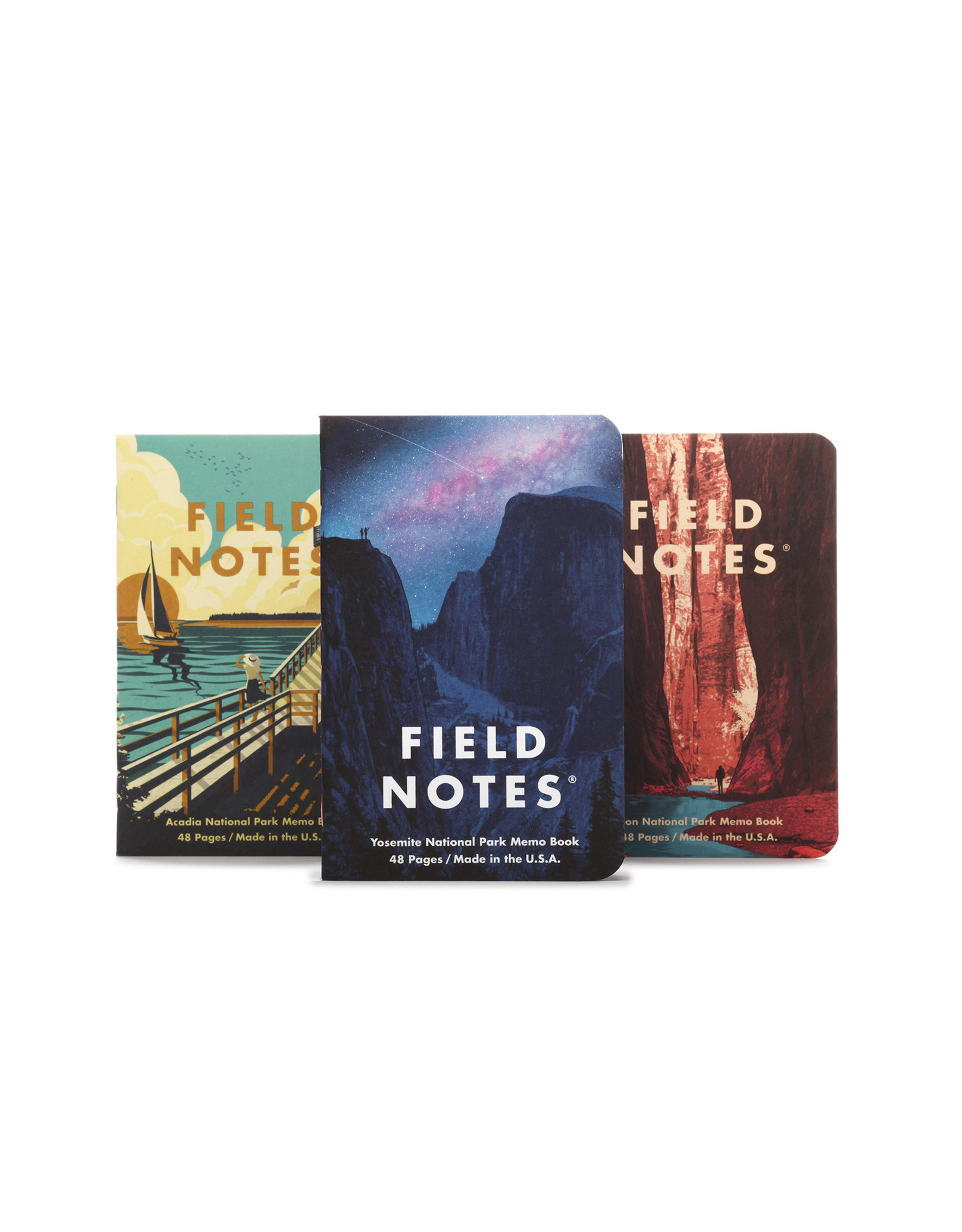 Field Notes National Parks: Series A