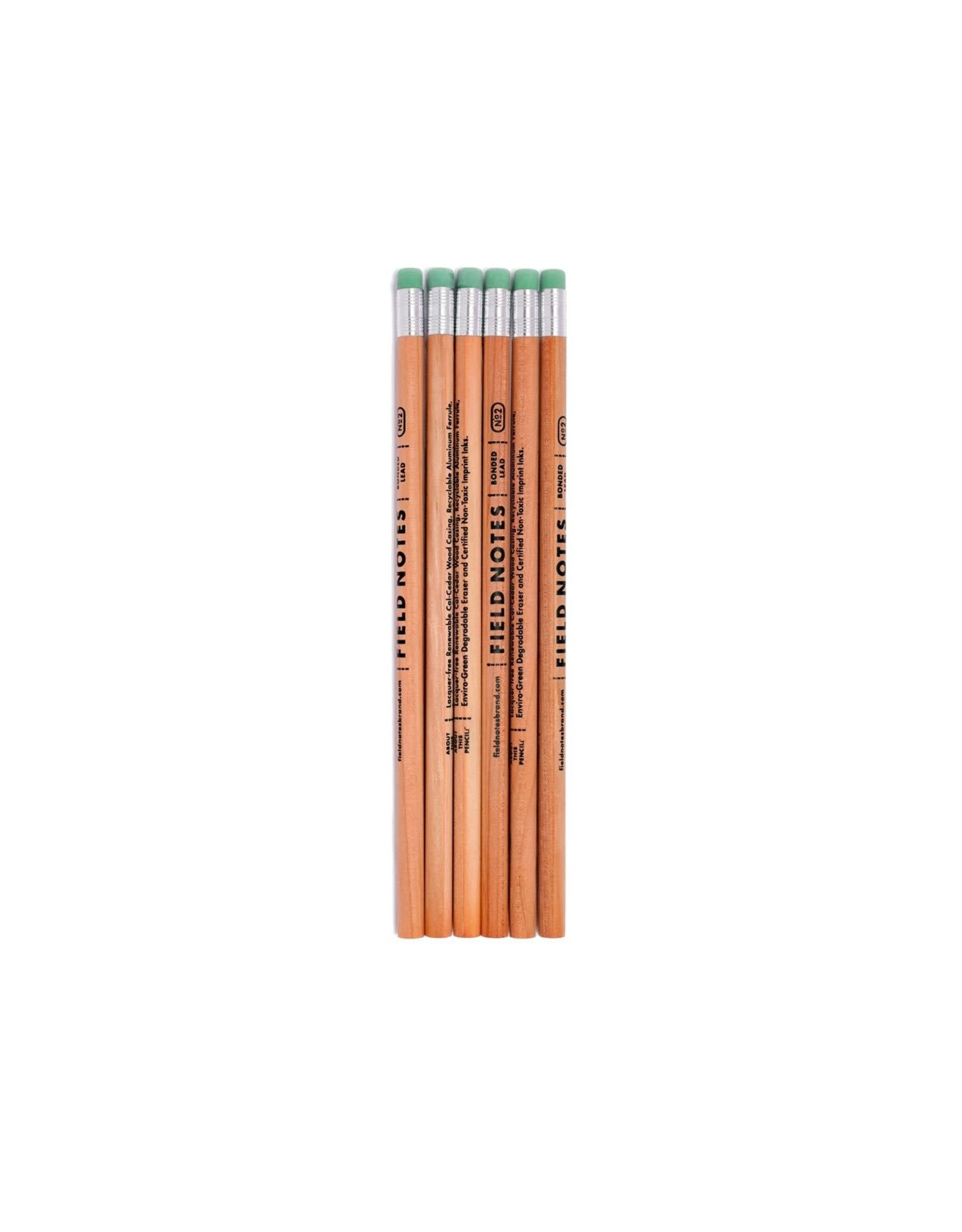 Field Notes Woodgrain Pencil 6 Pack