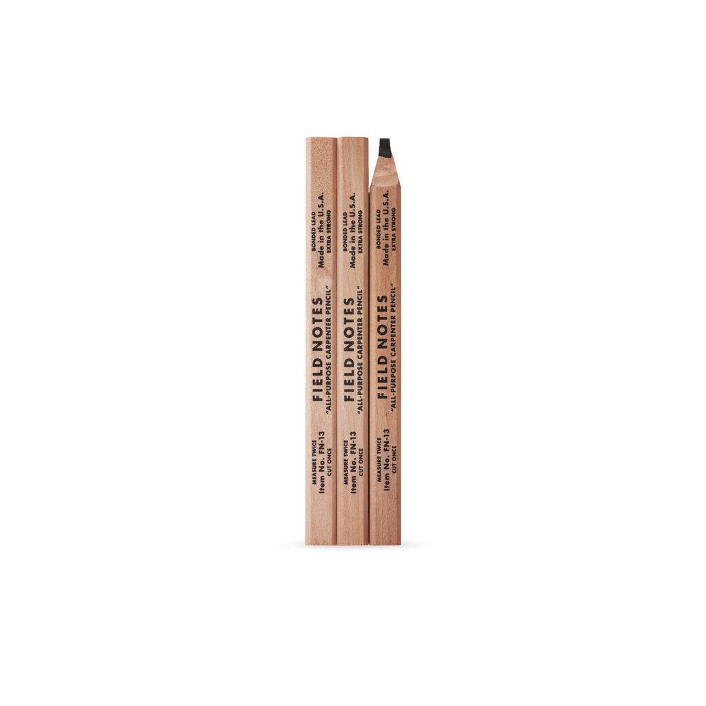 Field Notes Carpenter Pencil 3 Pack