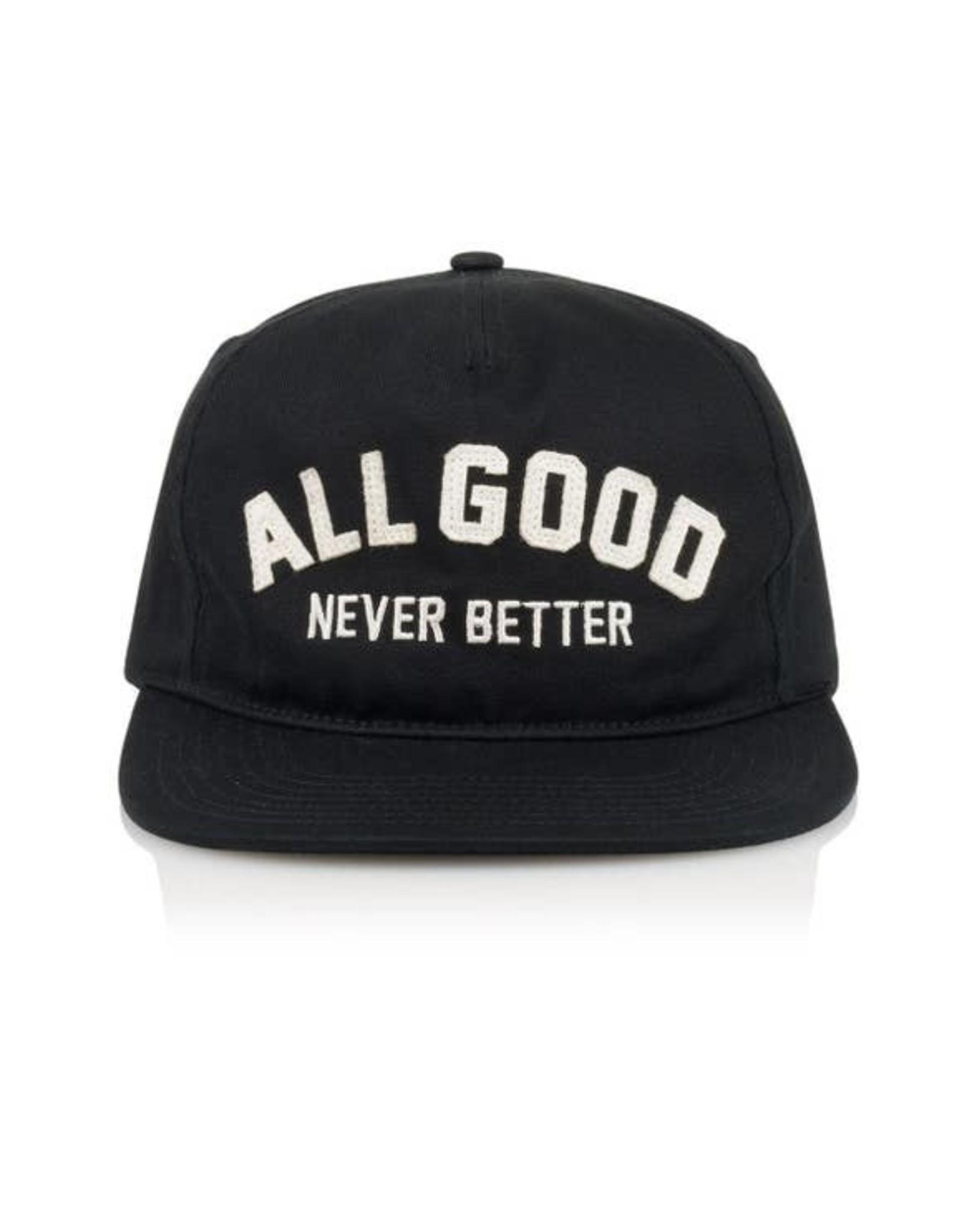 All Good Buckeye Cap- Black