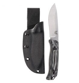 Benchmade Benchmade Saddle Mountain Skinner: Black/Grey