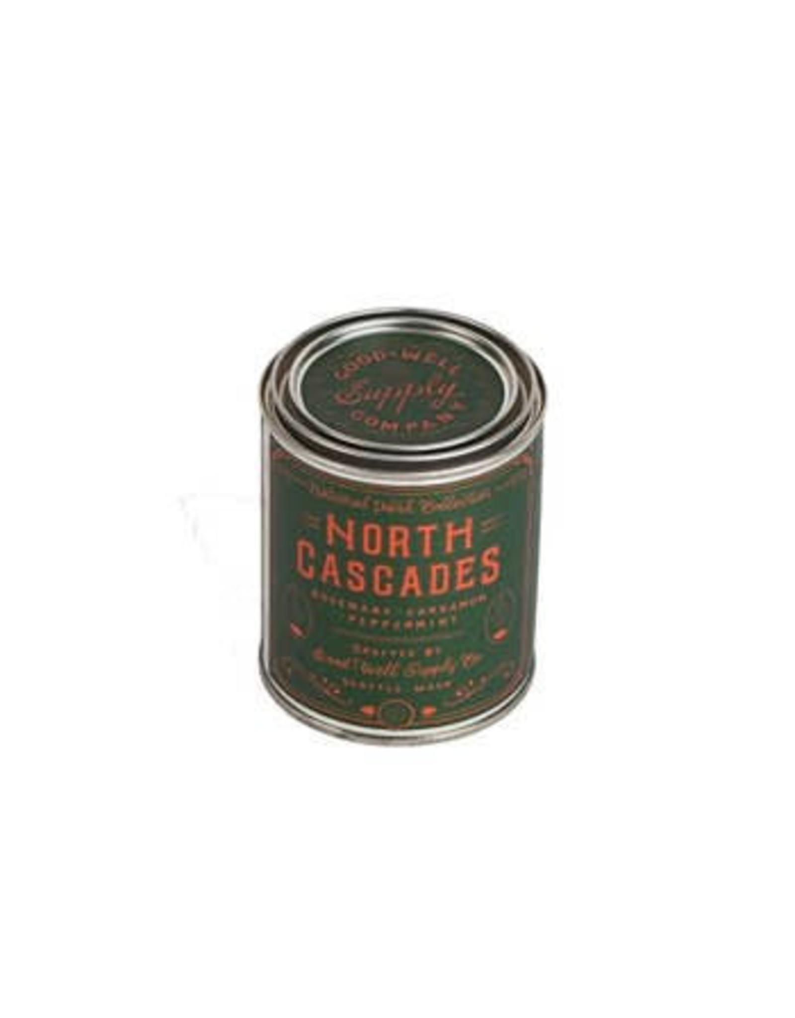 GWS Candle: North Cascades- 1/2 Pint