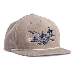 Howler Bros HB Posse Snapback Cap- Grey Corduroy
