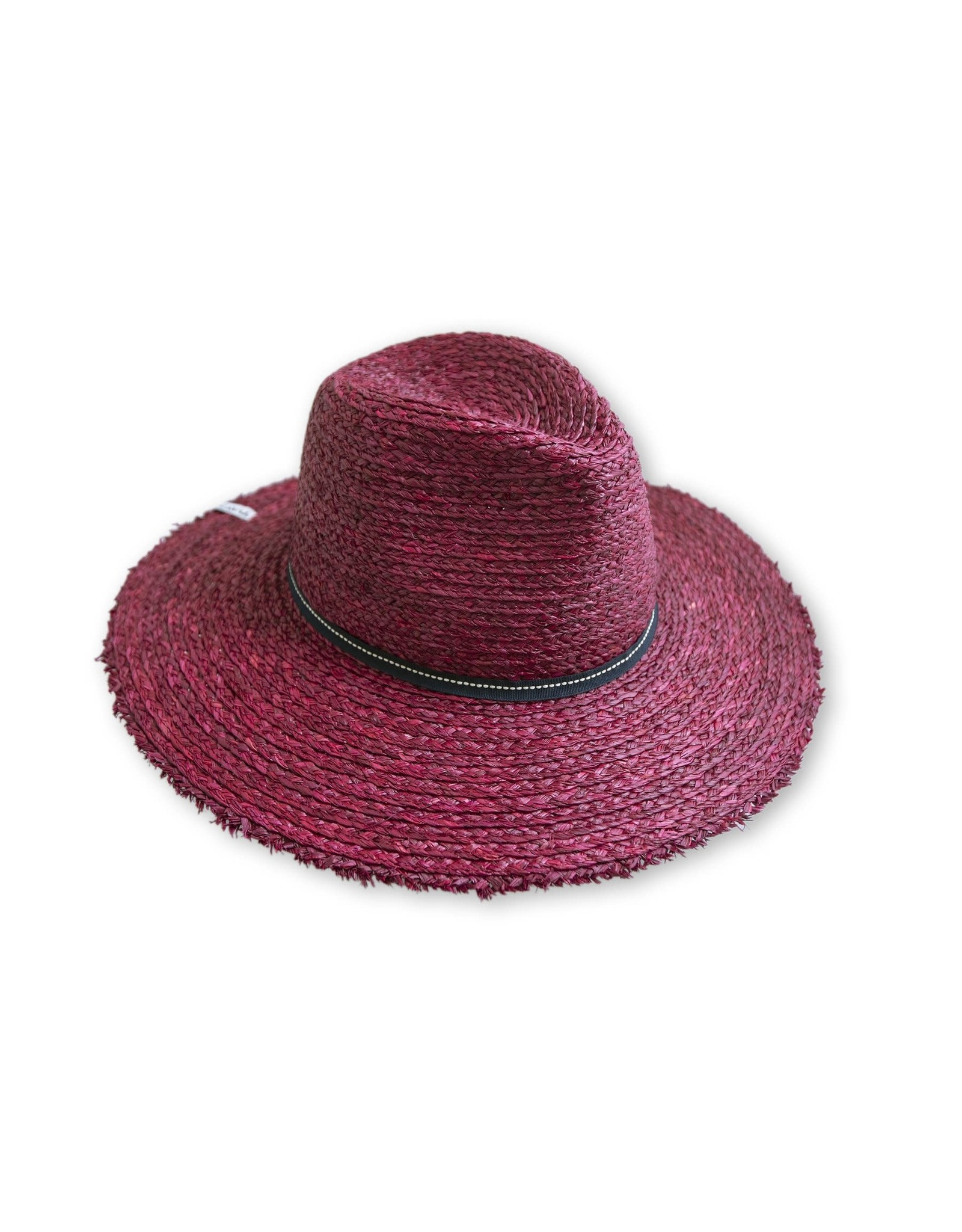 Kavu Kavu Flores Long Brimmed Sun Hat: Rio Red
