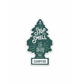 Keep Nature Wild KNW Campfire Fresh Sticker