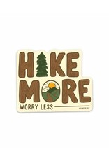 Keep Nature Wild KNW Hike More Sticker