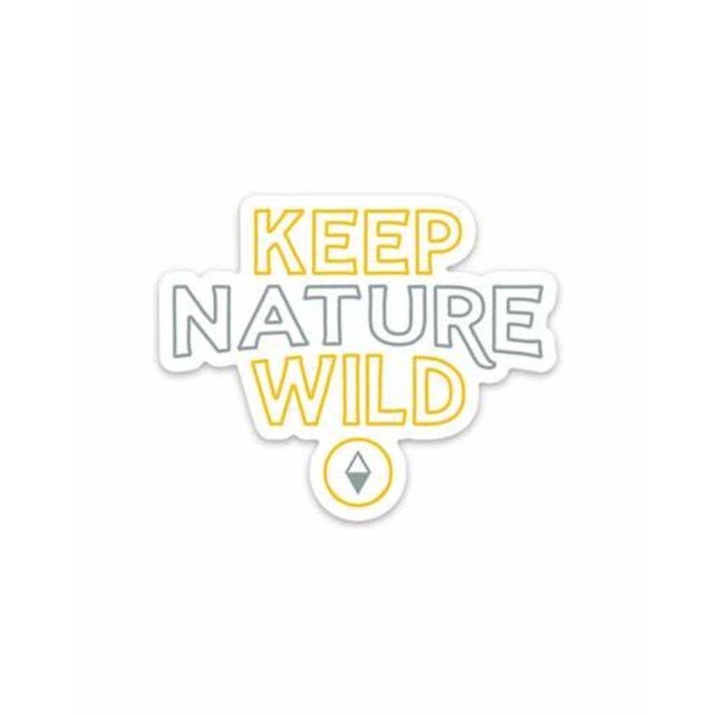Keep Nature Wild KNW Original Sticker