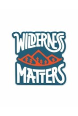 Keep Nature Wild KNW Wilderness Matters Sticker