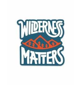Keep Nature Wild KNW Wilderness Matters Sticker