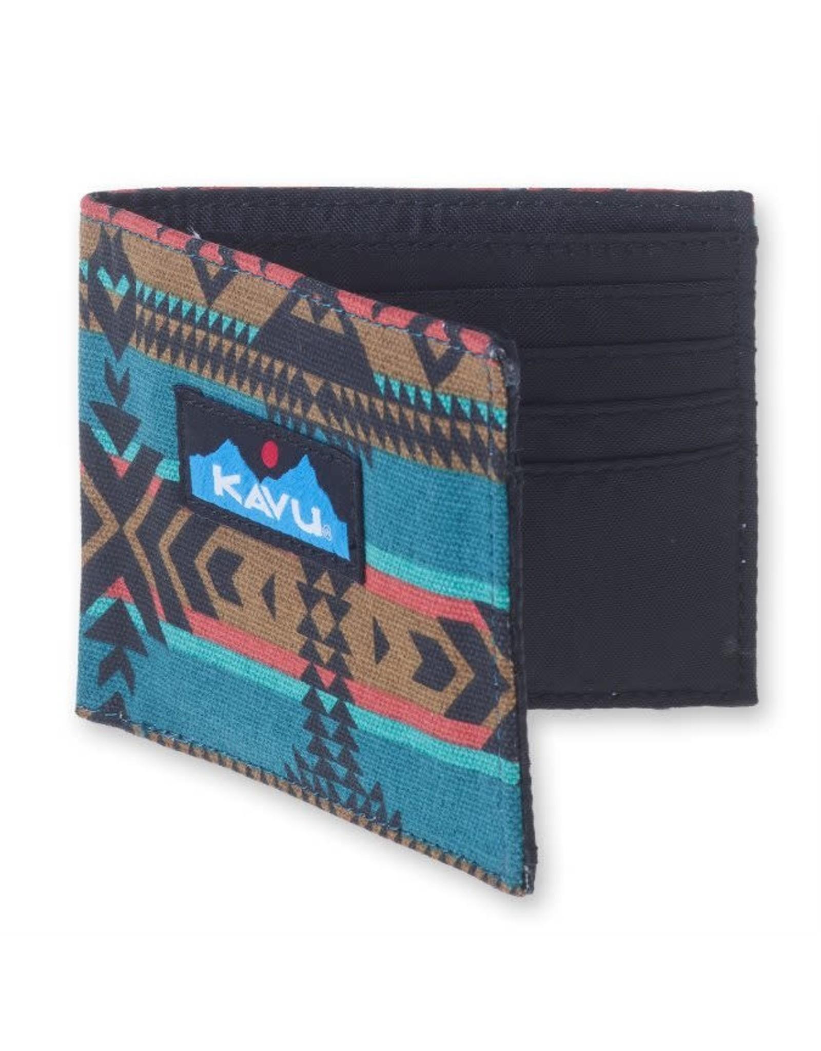 Kavu Kavu Yukon Wallet: Pacific Blanket