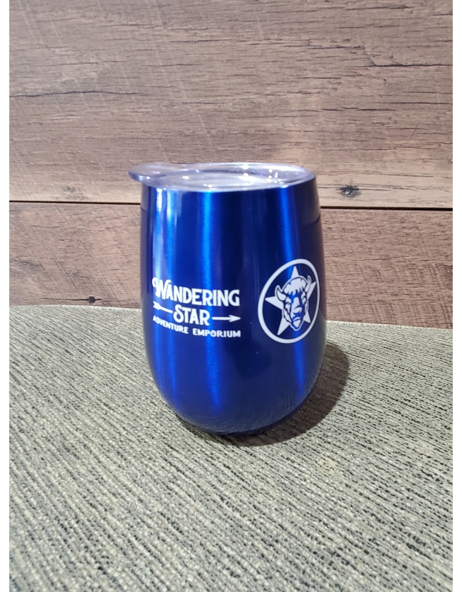 WS 10oz. Wine Tumbler: Blue