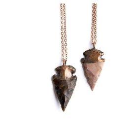 Hawkhouse Natural Arrowhead Pendant