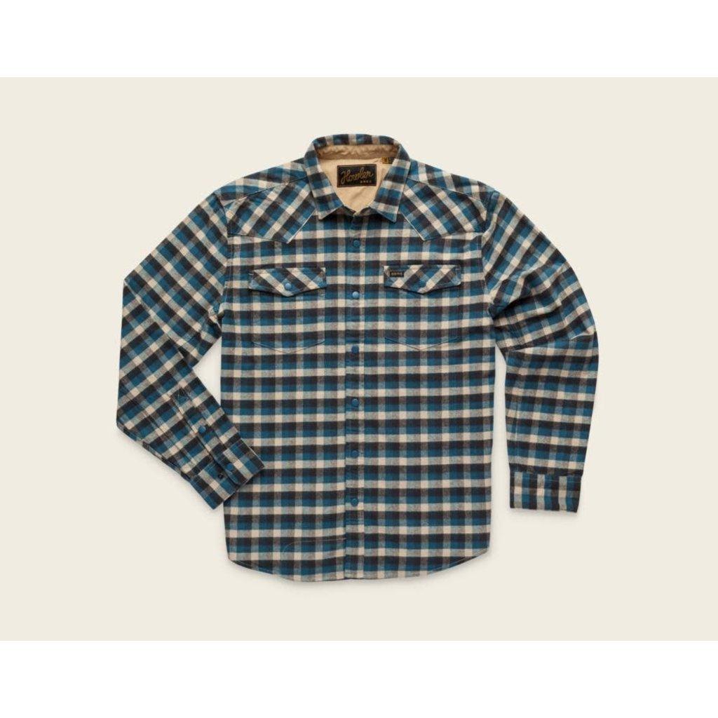 Howler Bros Howler Brothers Stockman Stretch Snapshirt - Pilgrim Plaid