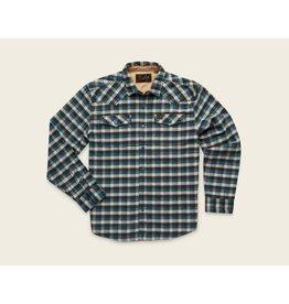 Howler Bros HB Stockman Stretch Snapshirt - Pilgrim Plaid