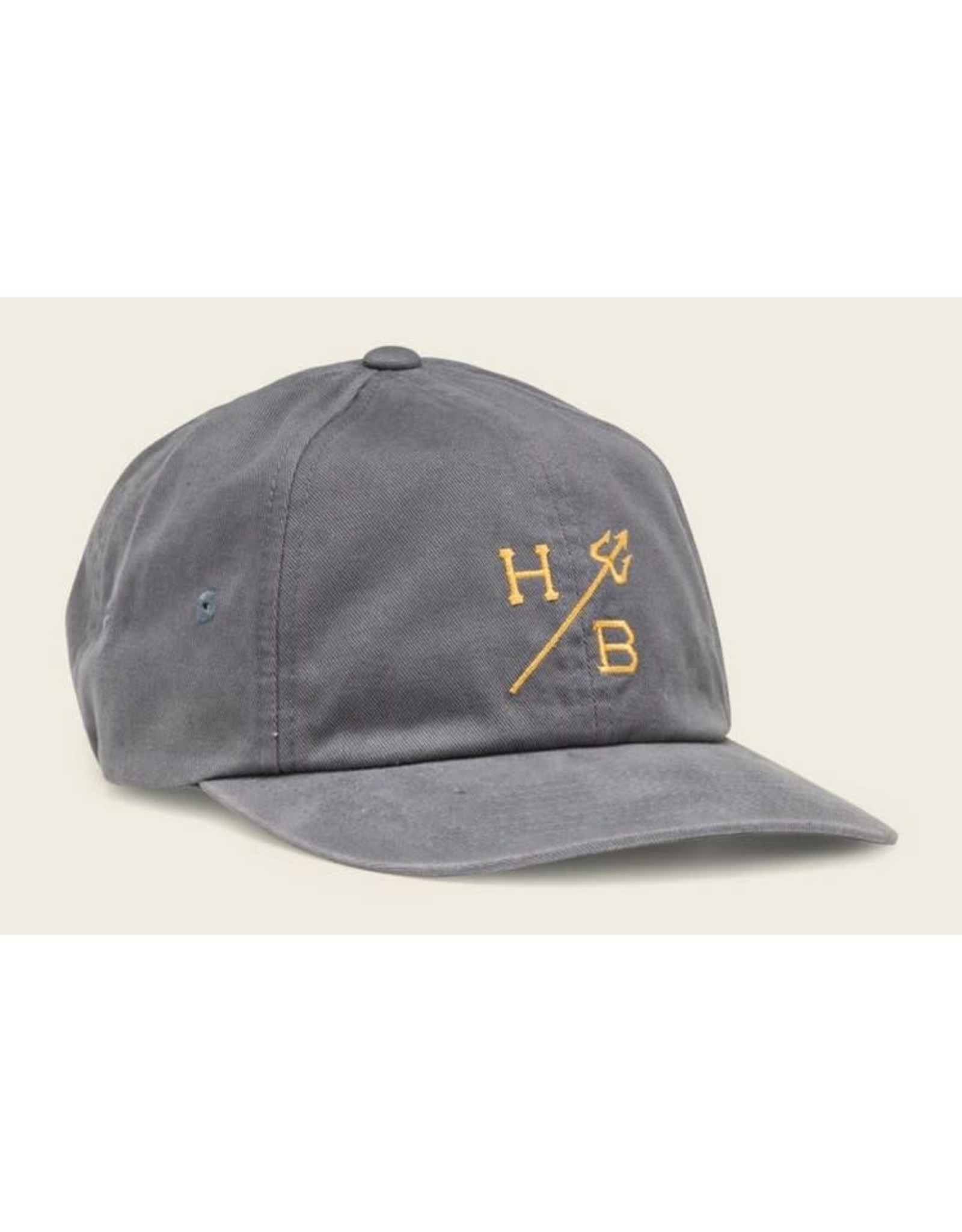 Howler Bros HB Trident Snapback Hat- Graphite