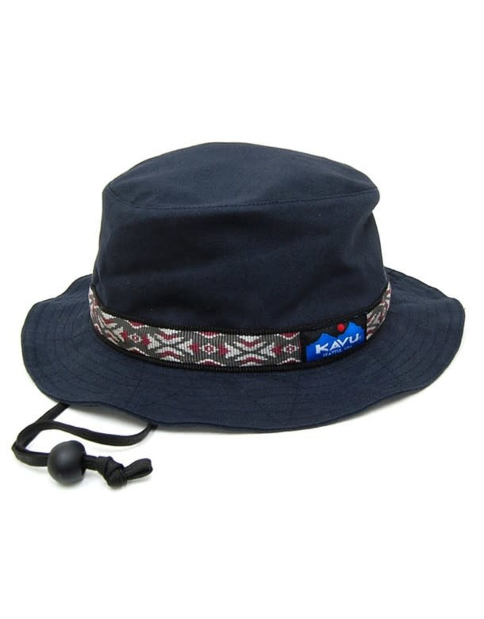 Kavu Kavu Strap Bucket Hat: Black- S